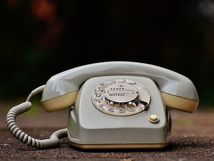 Picture of Rotary-Style Telephone