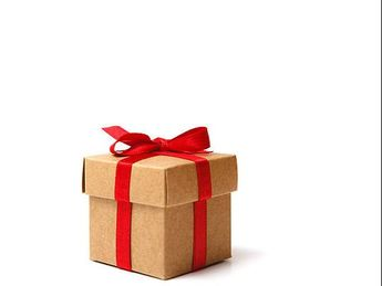 Picture a Gift-Wrapped Box